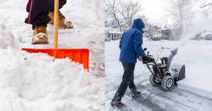 Snow Shoveling and Snow Blowing